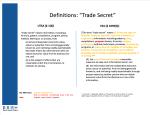 1Trade Secret Def