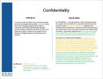 4Confidentiality
