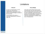 5Limitations